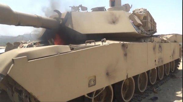 В Сеть выложили видео уничтожения американского танка Abrams