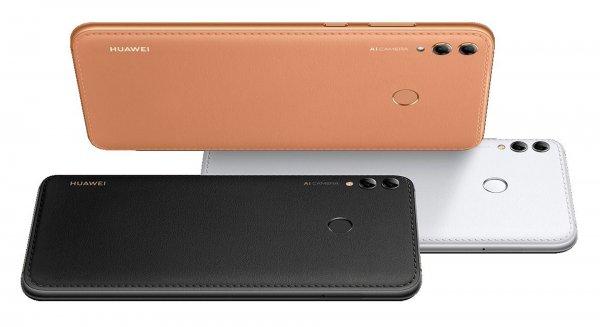 Huawei показала «кожаный» смартфон Enjoy Max