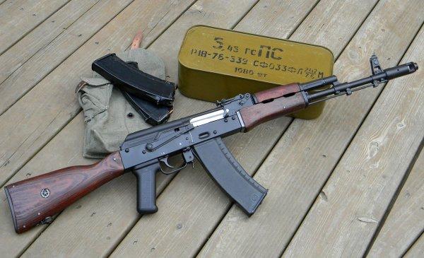 АК-74М признали одним из самых опасных автоматов в мире