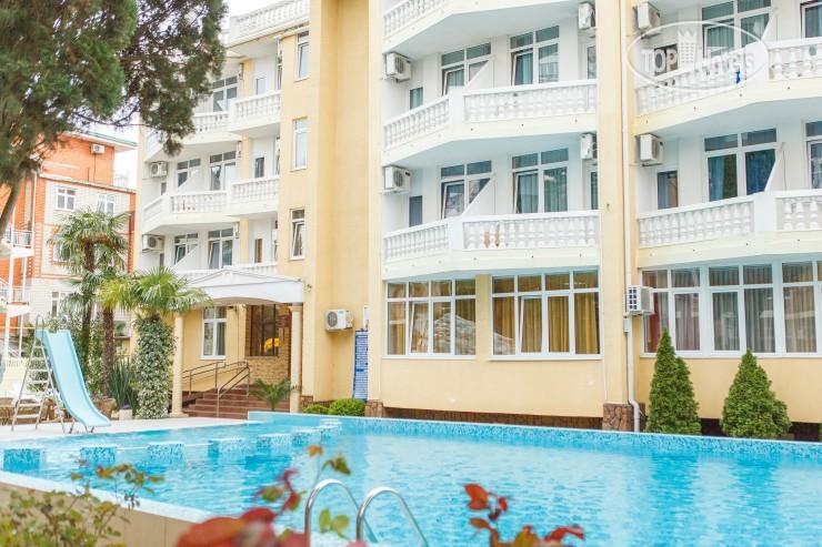 Замечательный отель «Кипарис», который находится в центре Адлера