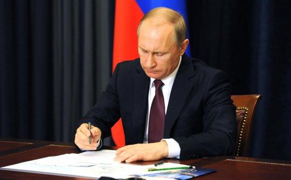 Владимир Путин уволили 15 генералов силовых ведомств