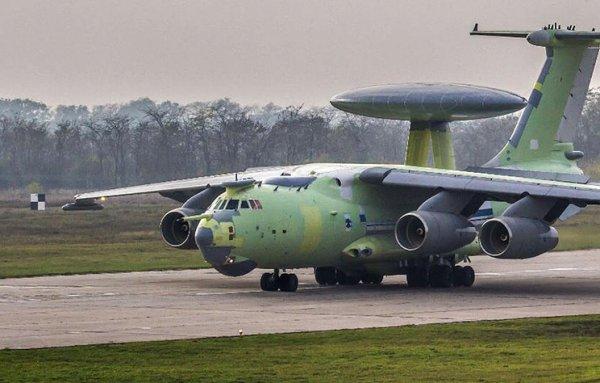 Минобороны анонсировало госиспытания «летающего радара» А-100