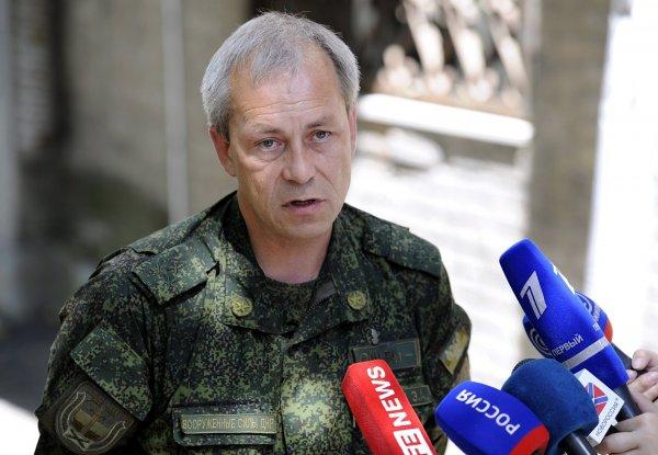 Басурин: ВСУ начали подготовку к наступлению на ДНР после гибели Захарченко