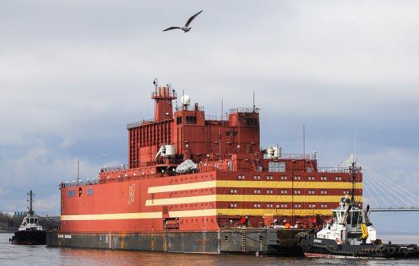 В РФ активировали реактор первой в мире плавучей атомной электростанции