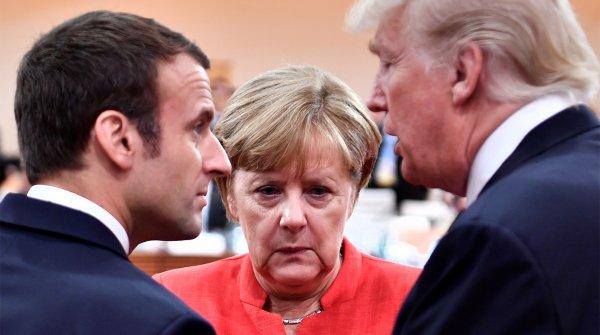 Правые Германии раскритиковали Меркель за приезд в Париж в годовщину окончания Первой мировой войны