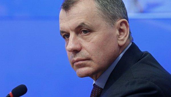 Глава крымского парламента сообщил о