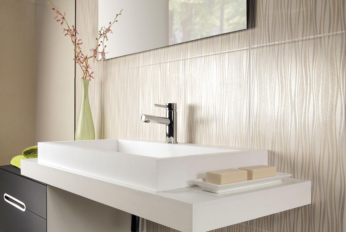 Особенности выбора настенной плитки в ванную