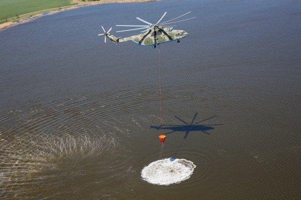 Вертолеты Ми-26 провели успешные учения в Хабаровском крае