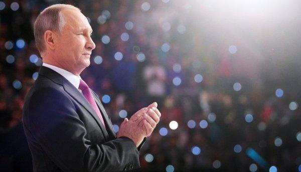 Деятельность Путина на посту президента одобряют уже почти 70% россиян