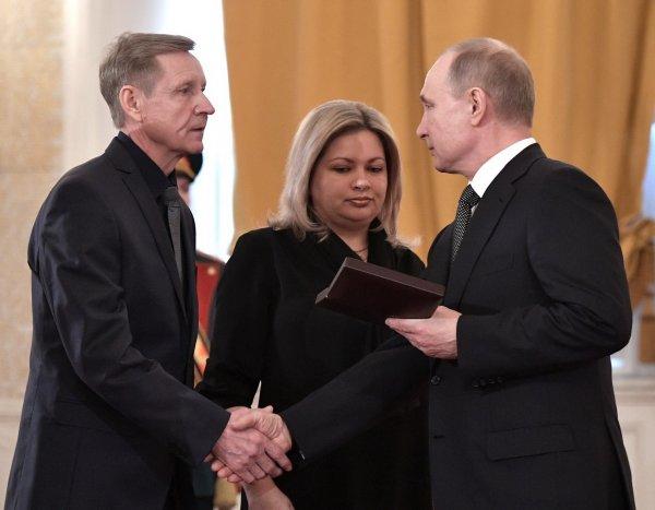 Двоих рязанцев удостоили наград президента России