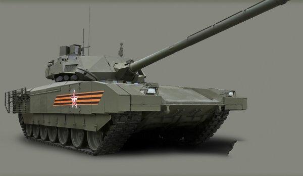 Военный эксперт высказал мнение о «секретном оружии» танка Т-14 базе «Арматы»