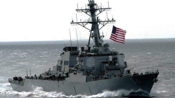 В Черное море вошел оснащенный противоракетной системой американский эсминец