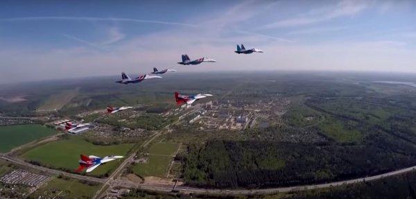 Минобороны опубликовало в Сети ролик, демонстрирующий силу ВКС России
