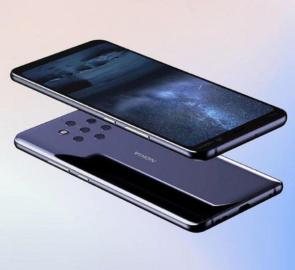 Инсайдеры показали с фото загадочным Nokia с тройной камерой