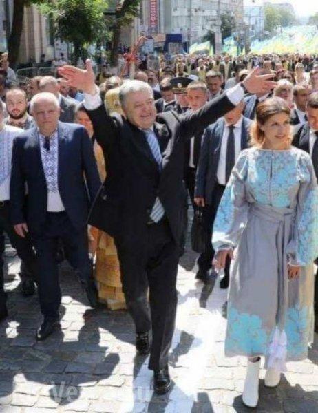 Порошенко: Крестный ход УПЦ КП является «херсной ходой»
