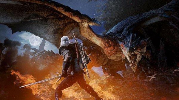 Ведьмак Геральт придет в мир Monster Hunter: World 8 февраля