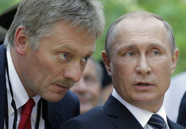 Дмитрий Песков рассказал, как от слов Путина «стынет кровь в жилах»