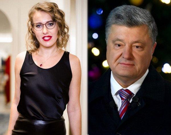 «Огромное преимущество»: Собчак рассказала, что спасёт Порошенко на выборах