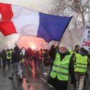 «Жёлтые жилеты» протестуют у могилы Наполеона I