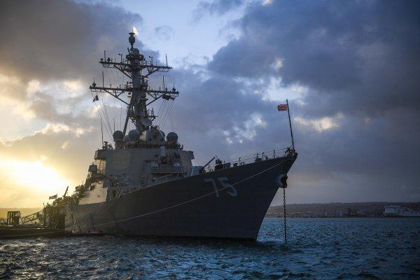 «Не выдержал позора»: Дональд Кук снова вошёл в Чёрное море, очевидно, забыв события 2014 года