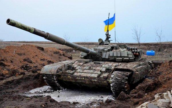 Киев стягивает тяжелое вооружение к границам Донбасса