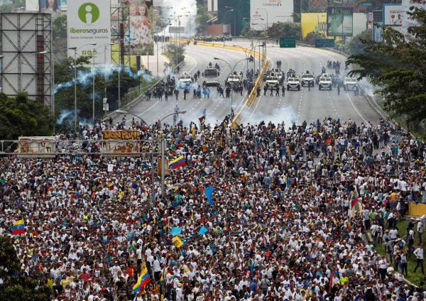 «Трампа буквой ЗЮ!»: Венесуэльский кризис привёл к окончанию шатдауна в США