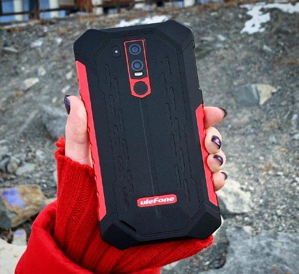 Прочнее Redmi Note 7: Ulefone подвергла жестким испытаниям свой Armor 6