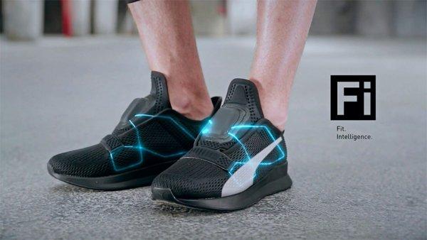 Puma выпустила новую модель кроссовок с автоматической шнуровкой
