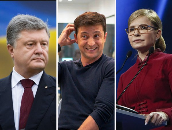 Зеленский – президент Украины: Донбасс отдаёт свыше 40% голосов за комика ради мира в стране