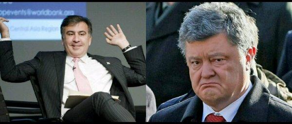 «Шоколадный король» Порошенко стал аутсайдером: Длинный язык Саакашвили лишил президента 2 тура выборов