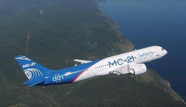 Новый МС-21-300 взлетел, чтобы покорить мир