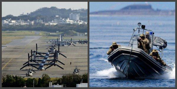 В поисках российского следа: На американской военной базе на Окинаве произошёл взрыв