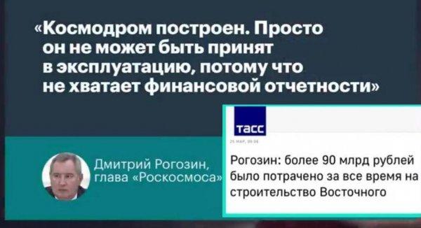 740 миллиардов: Медведев обвинил корпорацию Рогозина в распиле бюджета — Путин может найти нового главу «Роскосмос»