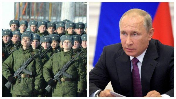 Россия в опасности?: Путин сохранил тенденцию роста призывников в армию