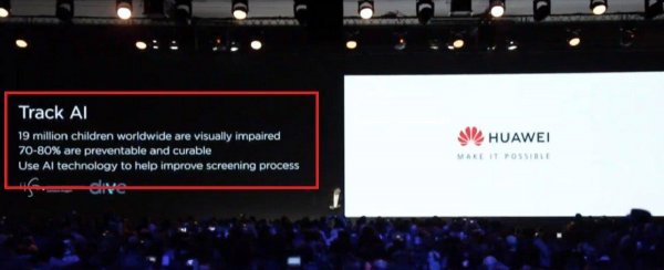 Панацея для слепых: Huawei пиарит Kirin 980 из P30 на больных детях по примеру Apple