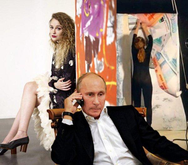 «Путин бросил папочку?»: Эрнст отказался от дочери, чтобы не потерять «Первый Канал» - мнение