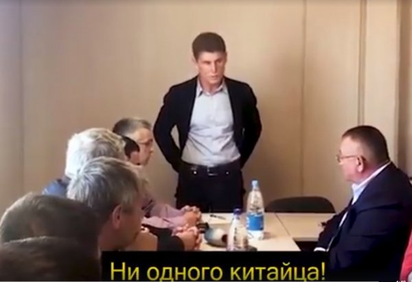 Ни одного китайца!: Репутацию Кожемяко пытается подмочить китайская мафия