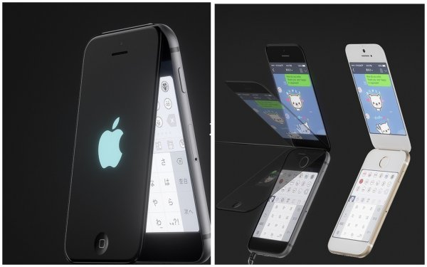 Apple возвращается к истокам: Инсайдеры раскрыли дизайн складного iPhone-2019