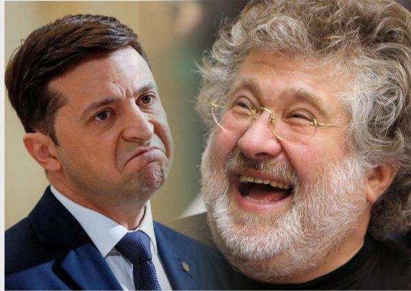 «Он вам не Коломойша!»: Зеленский начнет плясать под дудку олигархов Украины из-за страха «отжима» бизнеса