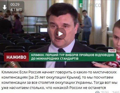 «Почём Крым?»: Шутки украинского министра про компенсацию за оккупацию могут загнать страну в «долговую яму»