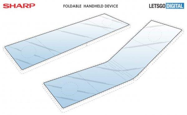 Новый формат: Sharp разрабатывает гибкий игровой смартфон