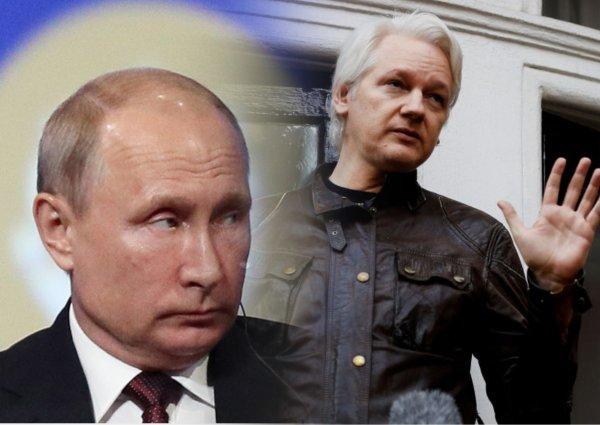 Стратегическое преимущество: Путин заберет Ассанжа «под крыло» Москвы назло США