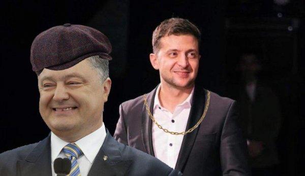 Быстрее, жёстче, неадекватнее: Порошенко в прямом эфире пригласил Зеленского на дебаты