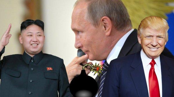 «Давай вместе мочить Трампа?»: Ким Чен Ын летит к Путину попросить образумить «слабоумного старика»