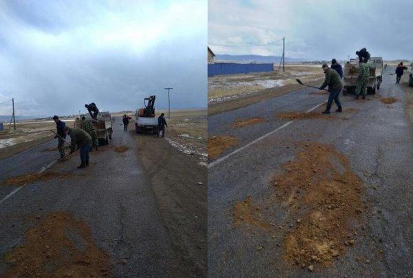«Анатольевич, не гони»: Медведева «попустили» за слова о современном ремонте дорог