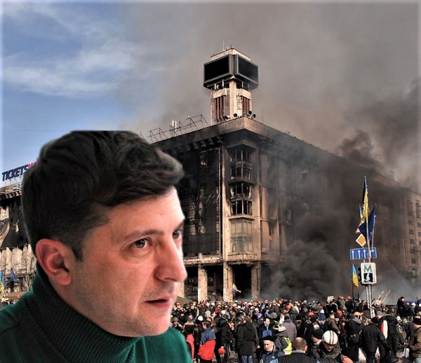 Або Зеленский, або Майдан: Сторонники Зеленского заявили о готовности выйти на Майдан