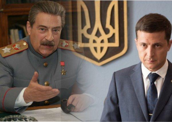 Кому - Сталин, кому - Голобородько: Сеть отреагировала на сходство Зеленского и Хазанова