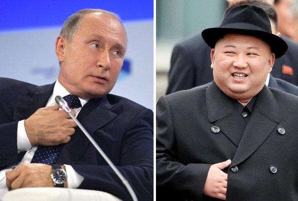 Путин и Ким Чен Ын с глазу на глаз обсудили урегулирование ситуации на Корейском полуострове
