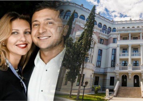 «Император» по дешёвке: Жена Зеленского купила с 2-кратной скидкой элитный пентхаус в Крыму