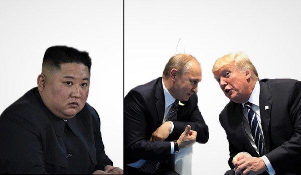 Третий лишний. Тёплая беседа Путина и Трампа могли стать причиной запуска ракет Ким Чен Ыном